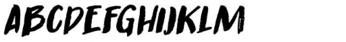 Guerrilla Handshake Italic Font LOWERCASE