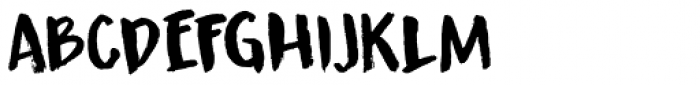 Guerrilla Handshake Font UPPERCASE