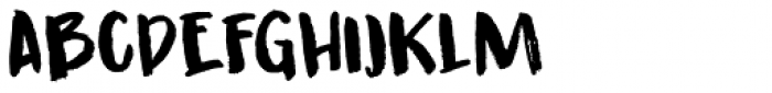 Guerrilla Handshake Font LOWERCASE
