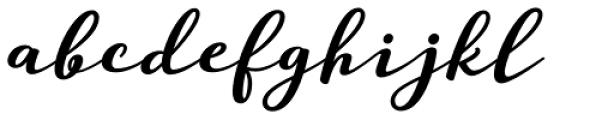 Guess Pro Black Font LOWERCASE