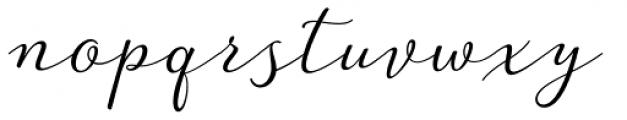 Guess Regular Font LOWERCASE