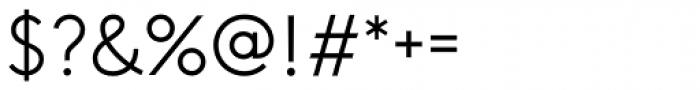 Guess Sans Light Font OTHER CHARS