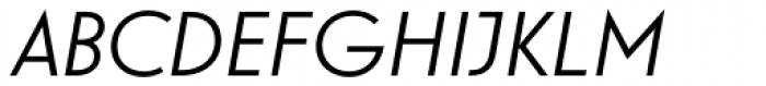 Guildford Pro Italic Font UPPERCASE