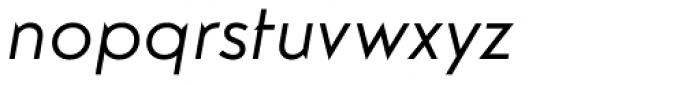 Guildford Pro Italic Font LOWERCASE