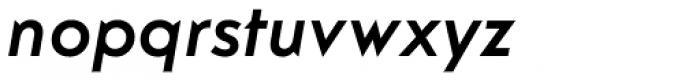 Guildford Pro Medium Italic Font LOWERCASE