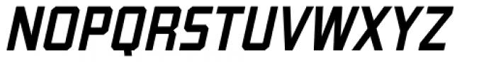 Guile Medium Italic Font UPPERCASE