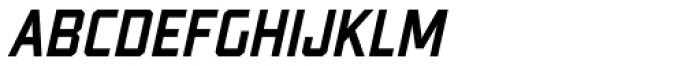 Guile Medium Italic Font LOWERCASE