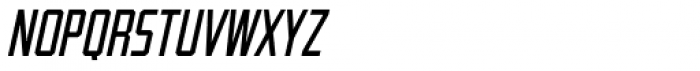 Guile Semi-Condensed Italic Font LOWERCASE
