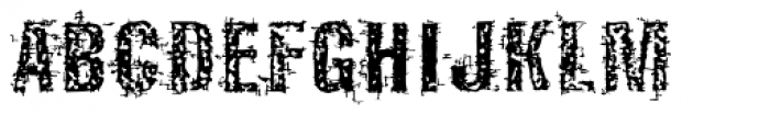 Guilty Font UPPERCASE
