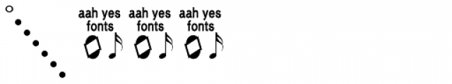 Guitar Chords Closed Font OTHER CHARS