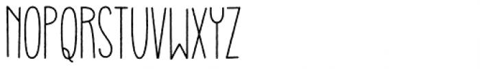 Gulerod Font UPPERCASE