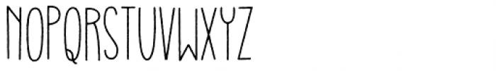 Gulerod Font LOWERCASE