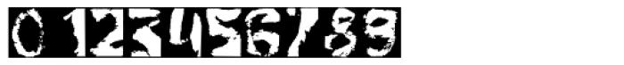 Gulitov Negative Font OTHER CHARS