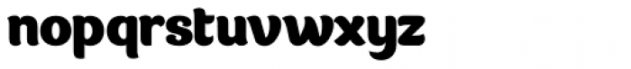 Gumley Font LOWERCASE