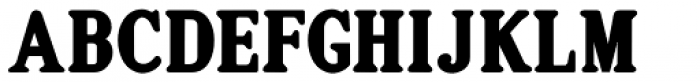 Gummed Alphabet JNL Font UPPERCASE