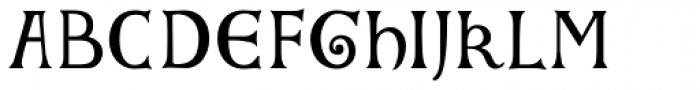Gundrada ML Font UPPERCASE