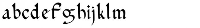 Gundrada ML Font LOWERCASE