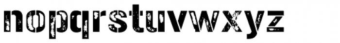Gunplay Damage Font LOWERCASE