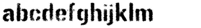 Gunplay Spraypaint Font LOWERCASE