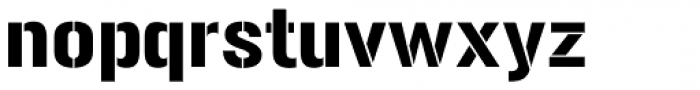 Gunplay Font LOWERCASE