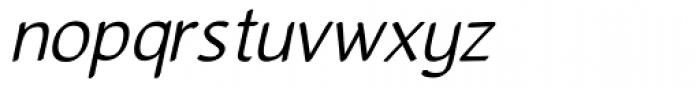 Gurnee Oblique Font LOWERCASE