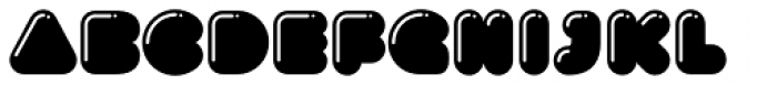 Gusto Highlight Font LOWERCASE