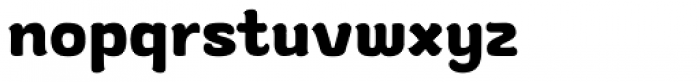 Gusto Font LOWERCASE