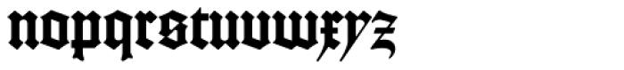 Gutenberg B Font LOWERCASE