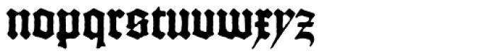 Gutenberg C Font LOWERCASE