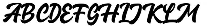 Guthenberg Regular Font UPPERCASE