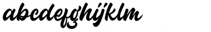 Guthenberg Regular Font LOWERCASE