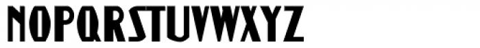 Guthschmidt Condensed Font UPPERCASE