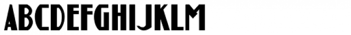 Guthschmidt Condensed Font LOWERCASE