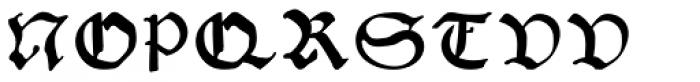 Gutknecht Font UPPERCASE