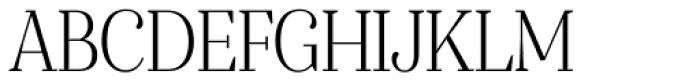 Gwyner Condensed Light Font UPPERCASE