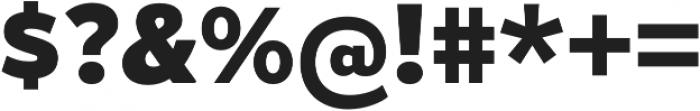 Gymkhana Heavy otf (800) Font OTHER CHARS