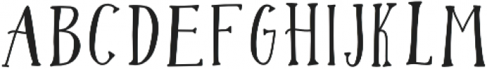 Gypsy Potion Regular otf (400) Font UPPERCASE