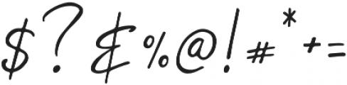 Gypsy Regular otf (400) Font OTHER CHARS