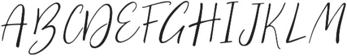 Gypsy Regular otf (400) Font UPPERCASE