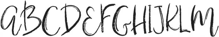 Gypsy Soul Brush Script otf (400) Font UPPERCASE