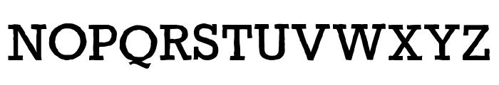 Gycentium-Popwell Font UPPERCASE