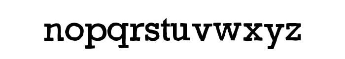 Gycentium-Popwell Font LOWERCASE
