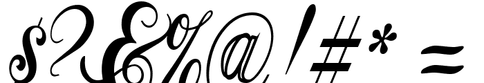 GyiestOld Font OTHER CHARS