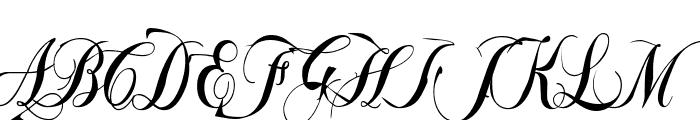 GyiestOld Font UPPERCASE