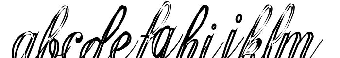 GyiestOld Font LOWERCASE