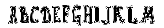 Gyn Toons Font UPPERCASE