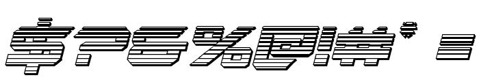 Gypsy Killer Chrome Italic Font OTHER CHARS