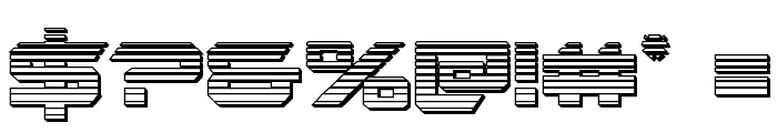Gypsy Killer Chrome Regular Font OTHER CHARS