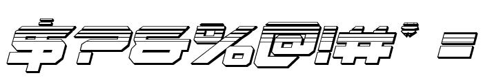 Gypsy Killer Platinum Italic Font OTHER CHARS