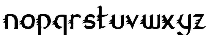 Gypsy Road Condensed Font LOWERCASE